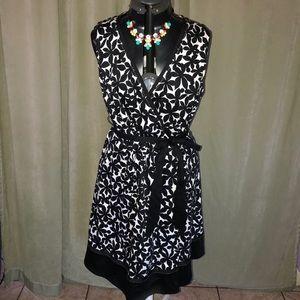 Lane Bryant floral wrap dress 🎉